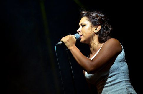 Leslie Abbadini in concerto - Foto di Andrea Rizzotto