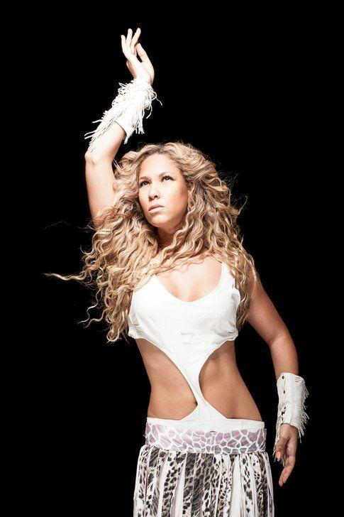 Leslie Abbadini in versione Illegal Shakira - foto di Matteo Zanga
