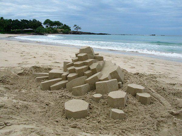 L'arte della sabbia: per non annoiarsi al mare