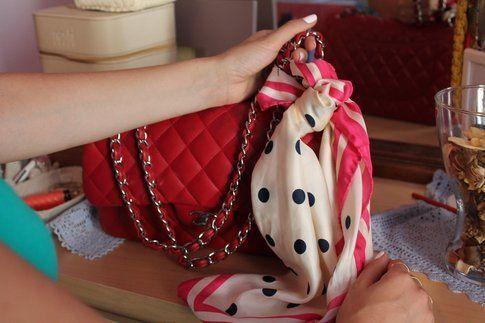 come accessorio per la borsa
