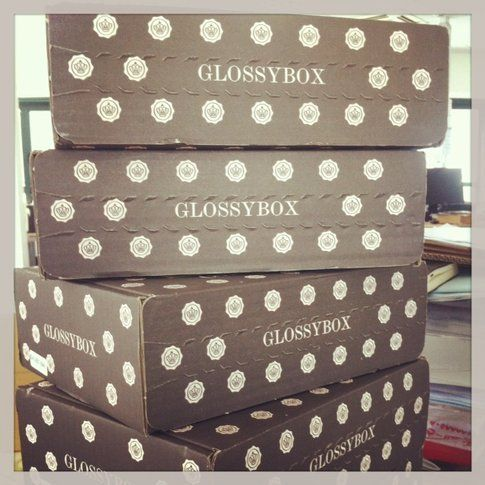 Glossybox Blue edition luglio 2013