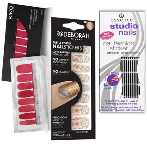 Kiko, Deborah e Essence Nail Patch