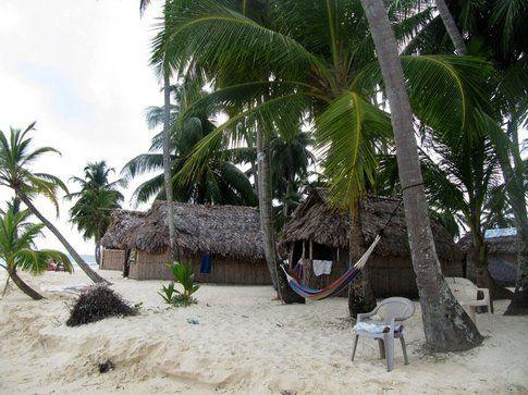 Capanne isole di San Blas