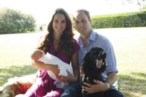 Royal baby: le prime foto