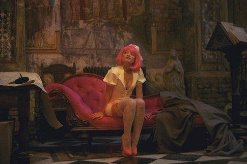 Una scena di The Zero Theorem - foto da Movieplayer.it