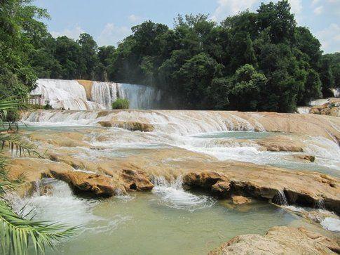 Cascate Azul del Agua, Palenque (Chiapas)