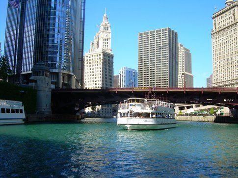 Tour di Chicago in battello