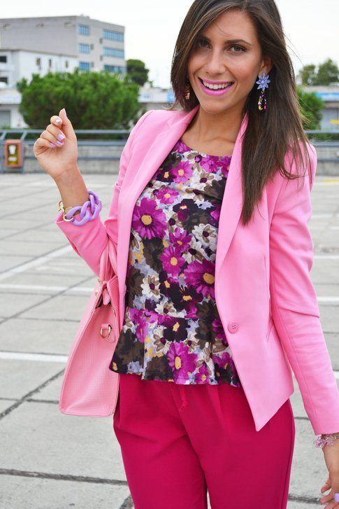 L'outfit da giorno colorato di Mariagrazia