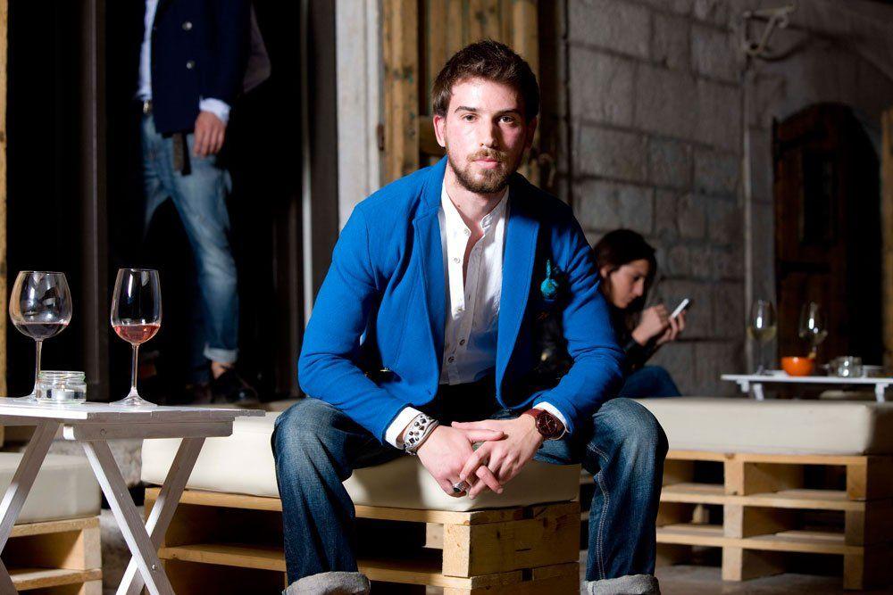 Giacca CRAB-Camicia ALIEN e Jeans EDWIN