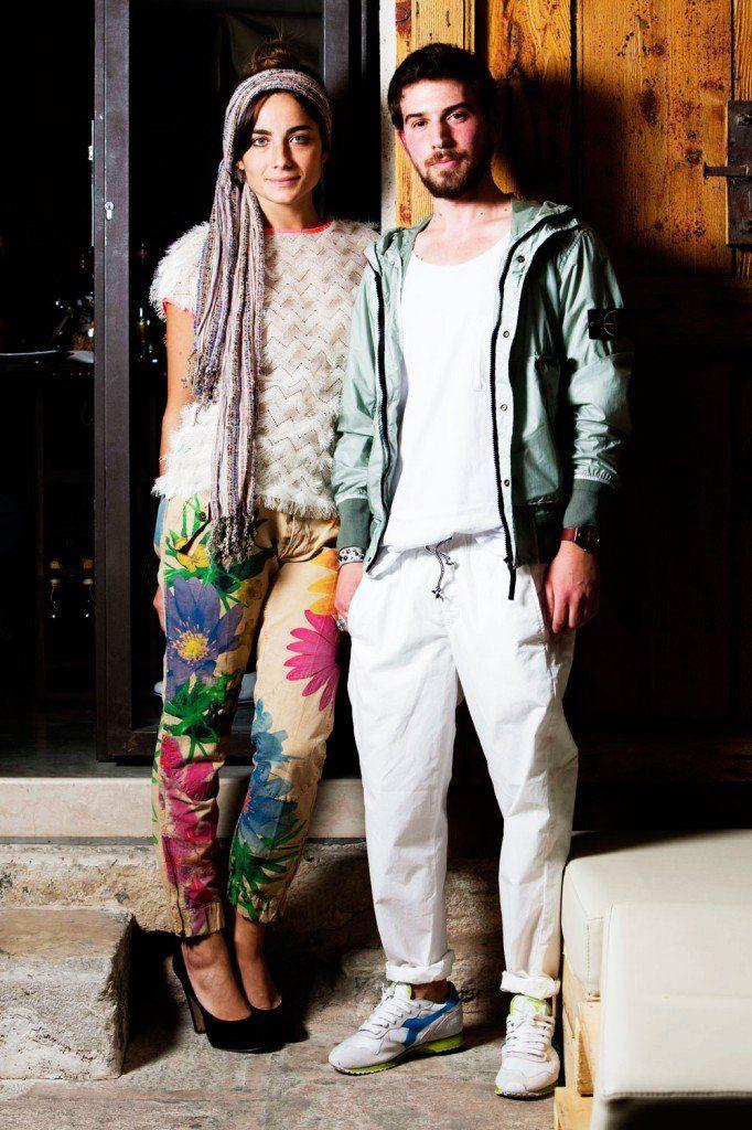 Maglia MSGM con pantalone PEOPLE Man Total look STONE ISLAND
