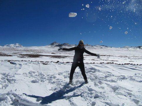 Neve in Bolivia