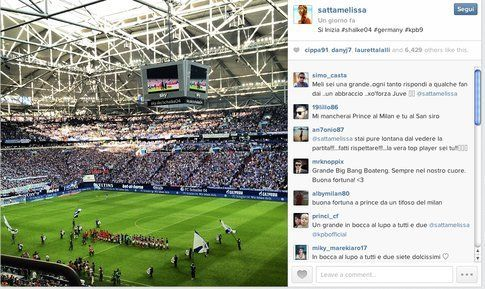 Melissa satta e l'avventura in Germania - Instagram
