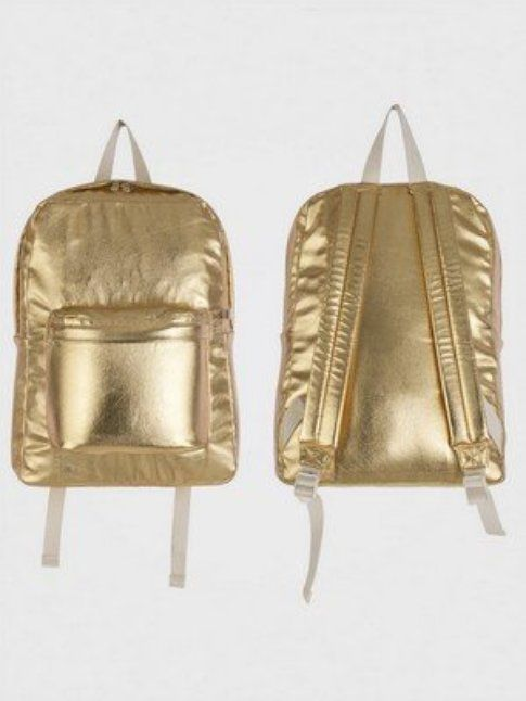 zaino gold, fonte american apparel