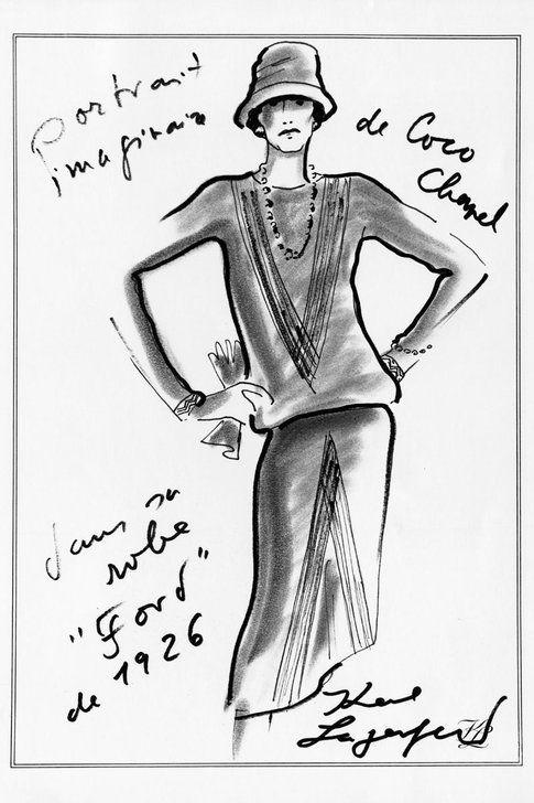 Un portrait dedicato a  Chanel