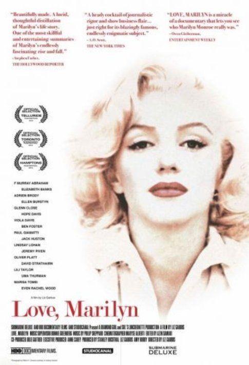 "Locandina di ""Love, Marilyn"" - immagine da Movieplayer.it"