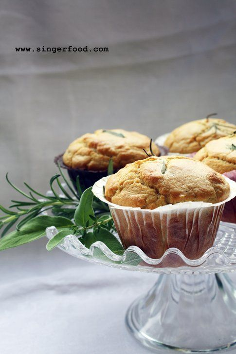 Muffin alle erbe aromatiche by SingerFood