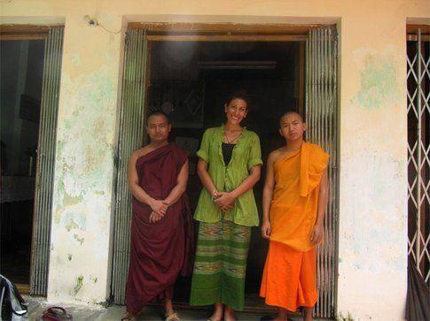 Io in Birmania a 30 gradi