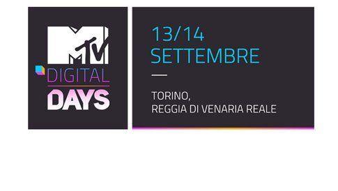 Logo Mtv digital days - foto Mtv.it