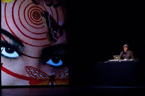 Un'immagine dello spettacolo Ferite a morte - foto da Feriteamorte.it