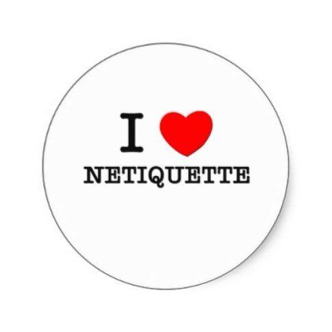 Netiquette sui social network. Fonte: trool.it