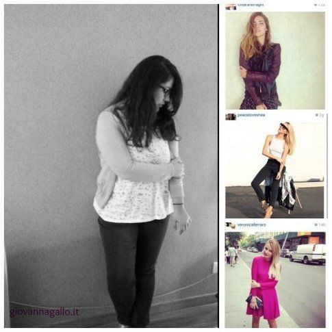 I trend di Instagram durante le Fashion Week. Fonte foto: Giovanna Gallo