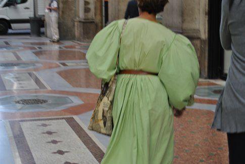 un dettaglio di un abito, ph Antonio Perfetto