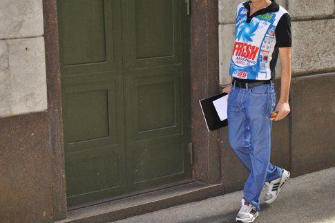 outfit divertente, ph Antonio Perfetto