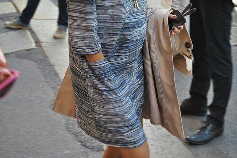 un dettaglio della texture di un abito, ph Antonio Perfetto