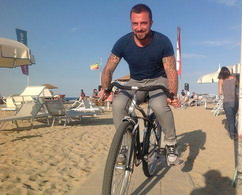 Rubio in spiaggia a Rimini per la Blogfest