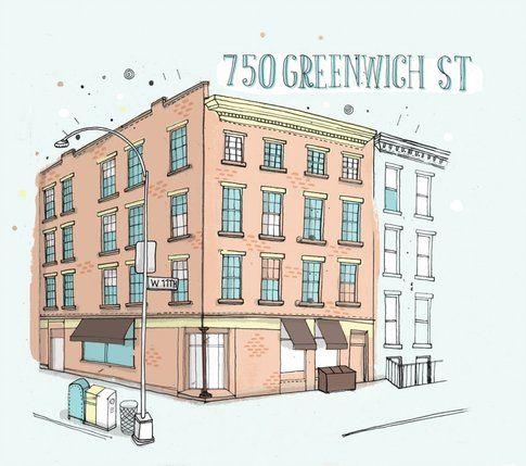 750 Greenwich St., New York, NY