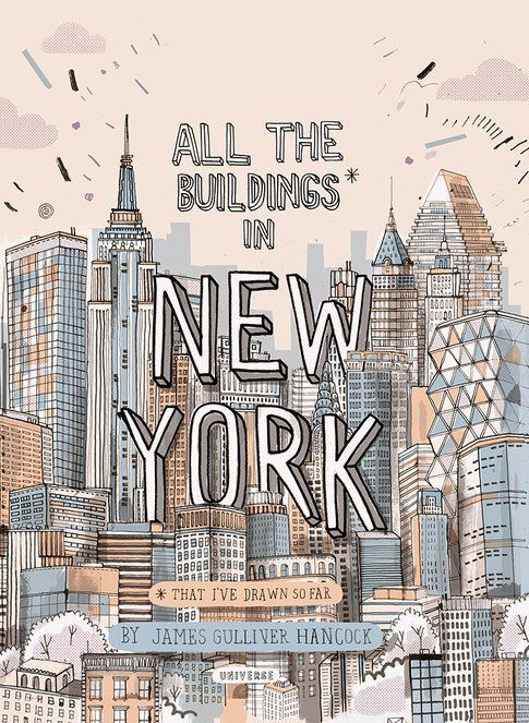 All The Buildings In New York (that I've drawn so far)