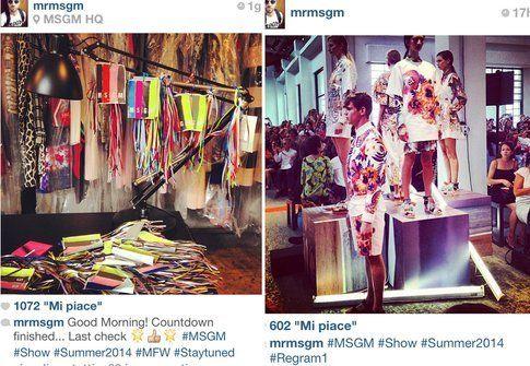 Mfw : cosa si scopre attraverso Instagram - Fonte: @mrmsgm su Instagram