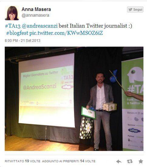 @andreascanzi Fonte foto: @annamasera