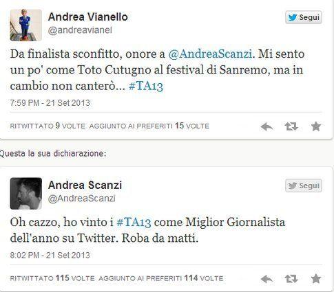 #TA13 i vincitori