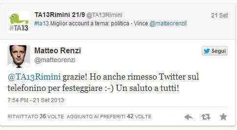 Matteo Renzi #ta13