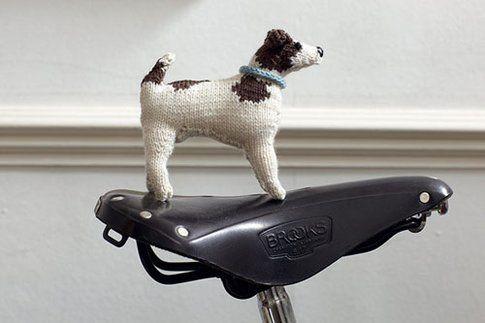 Tutorial per pupazzi in lana a forma di cane su Dog-milk.com