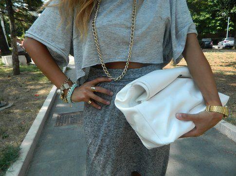 Marika Odoardi in un outfit casual
