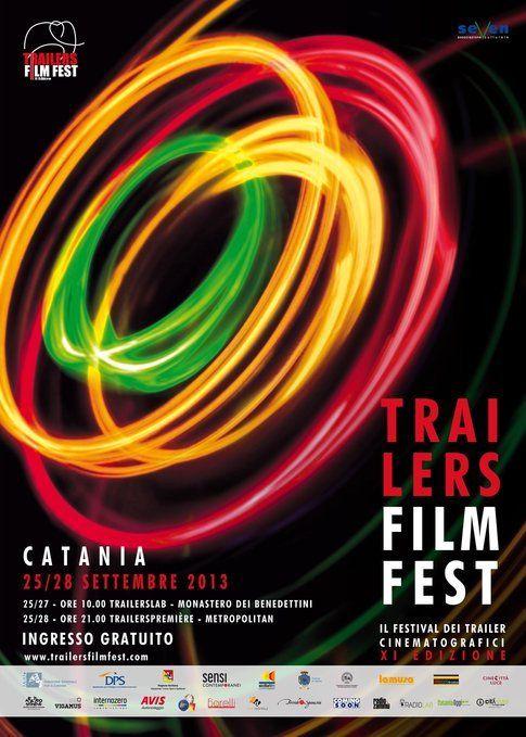 Locandina del TrailersFilmFest - immagine concessa da Reggi&Spizzichino, ufficio stampa ufficiale del festival