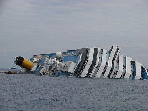 Naufragio della Concordia - foto da Flickr scattata da EU Humanitarian Aid and Civil Protection