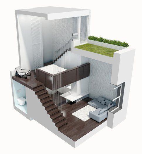 I livelli del Il micro-loft