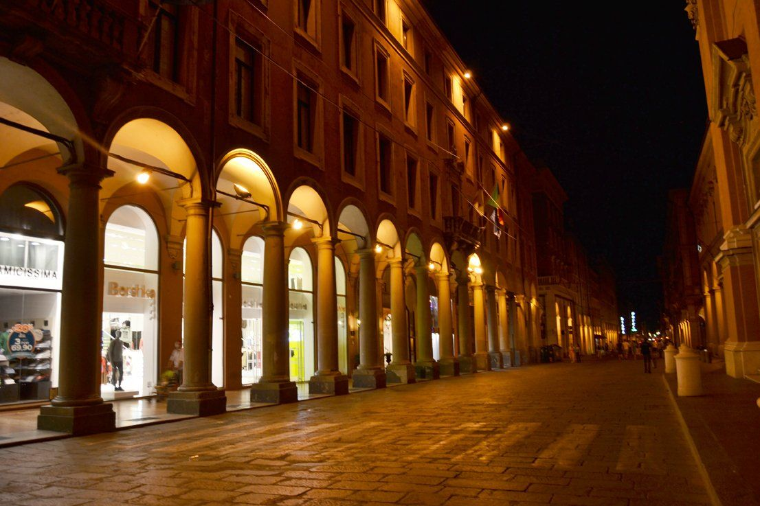 Via dell'Indipendenza Bologna
