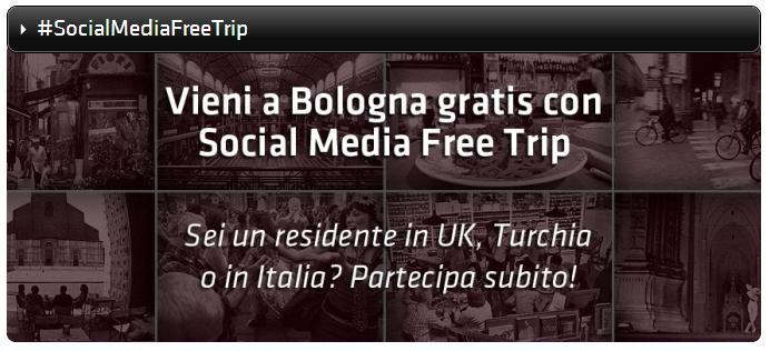 social media free trip