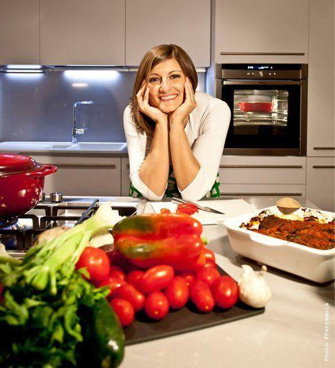 Cristina Scateni in cucina