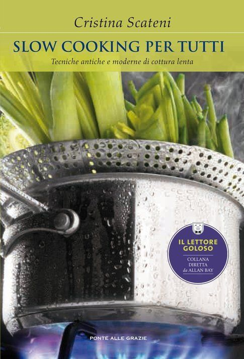 """La copertina del libro """"Slow Cooking per tutti"""""""