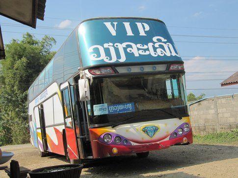 autobus Laos
