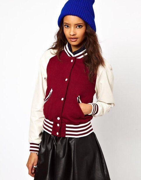 Varsity jacket, Asos