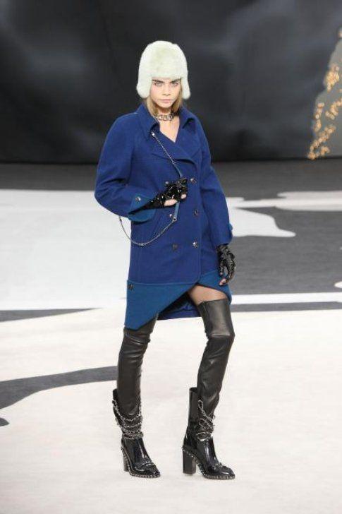 Stivali Cuissard: il grande ritorno! (Cara Delevingne) Fonte- Chanel.com