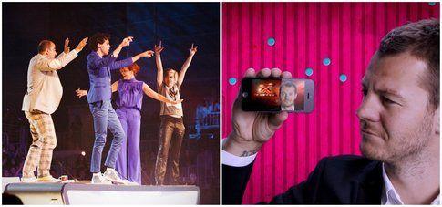 X Factor 7 - Collage di foto da Sky.it