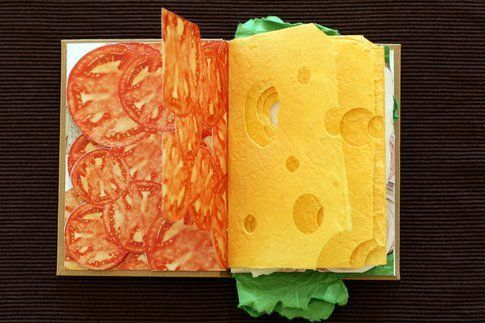 Sandwich Book © Pawel Piotrowski