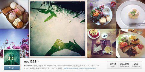 L'account Instagram di nao1223